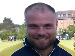 Joe Leach leads from the front