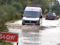 Flood-hit road between Telford and Shrewsbury reopens after repair work