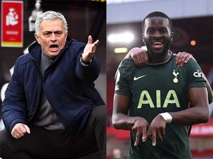 Jose Mourinho and Tanguy Ndombele