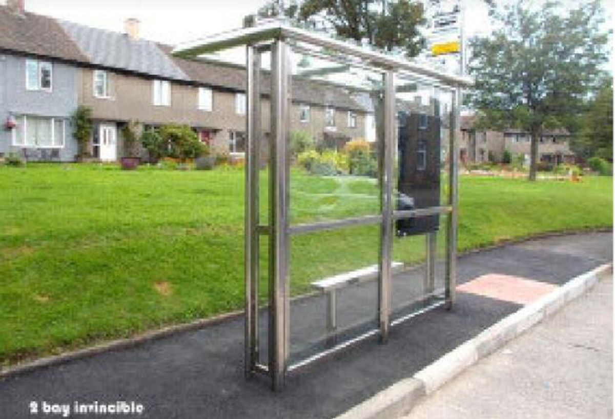 The 'invincble' bus shelter