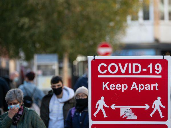 Covid signage