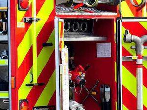 Shropshire crews put out cast iron cooker blaze