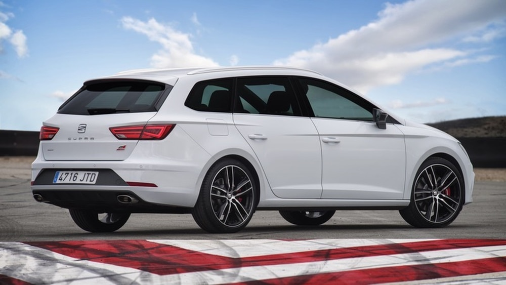 the seat leon cupra 300 st is a rapid hot estate that demands attention shropshire star. Black Bedroom Furniture Sets. Home Design Ideas