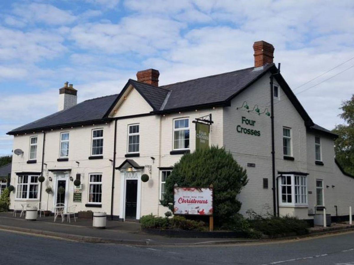 The Four Crosses Inn at Bicton