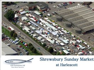 Shrewsbury's Sunday Market