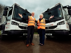 New fleet of recycling trucks to take to streets of Telford