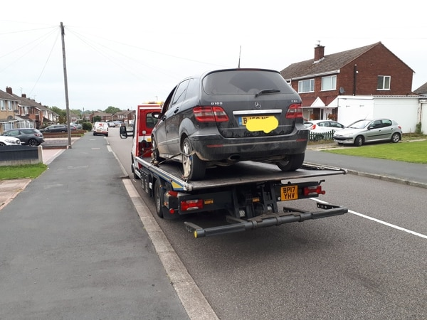 Car seized after driver is caught at 41mph on 30mph Telford road