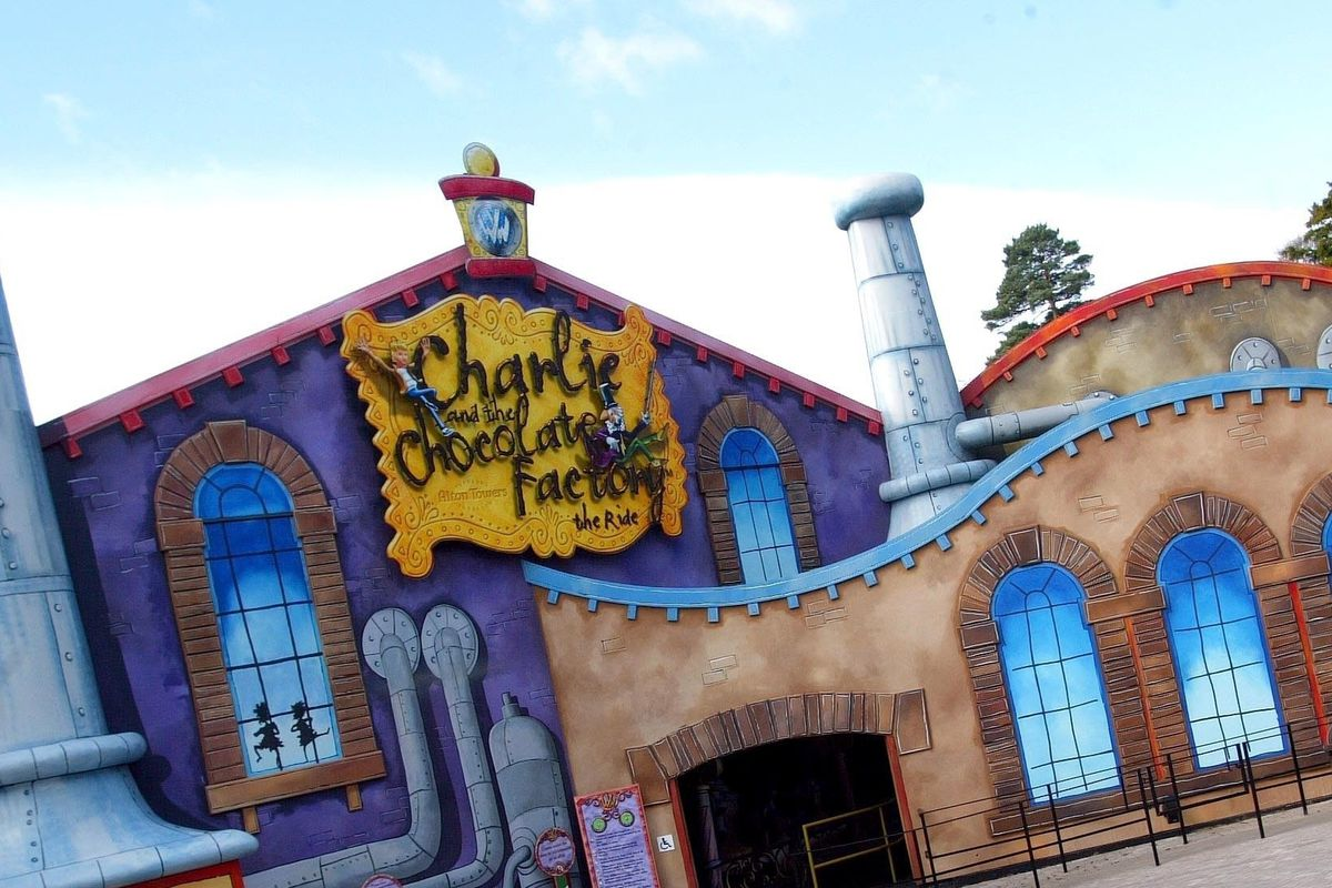 Charlie and the Chocolate Factory ride entrance