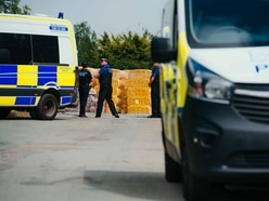 Oswestry wartime bombs building site work is under investigation