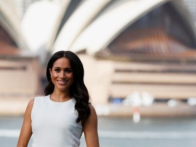 Pregnant Meghan stuns in Australian designer for first day of tour Down Under