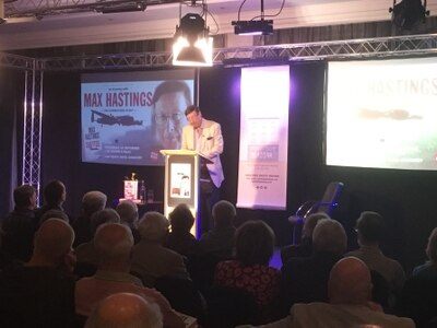 Dam Busters myths debunked in evening with Max Hastings in Shropshire