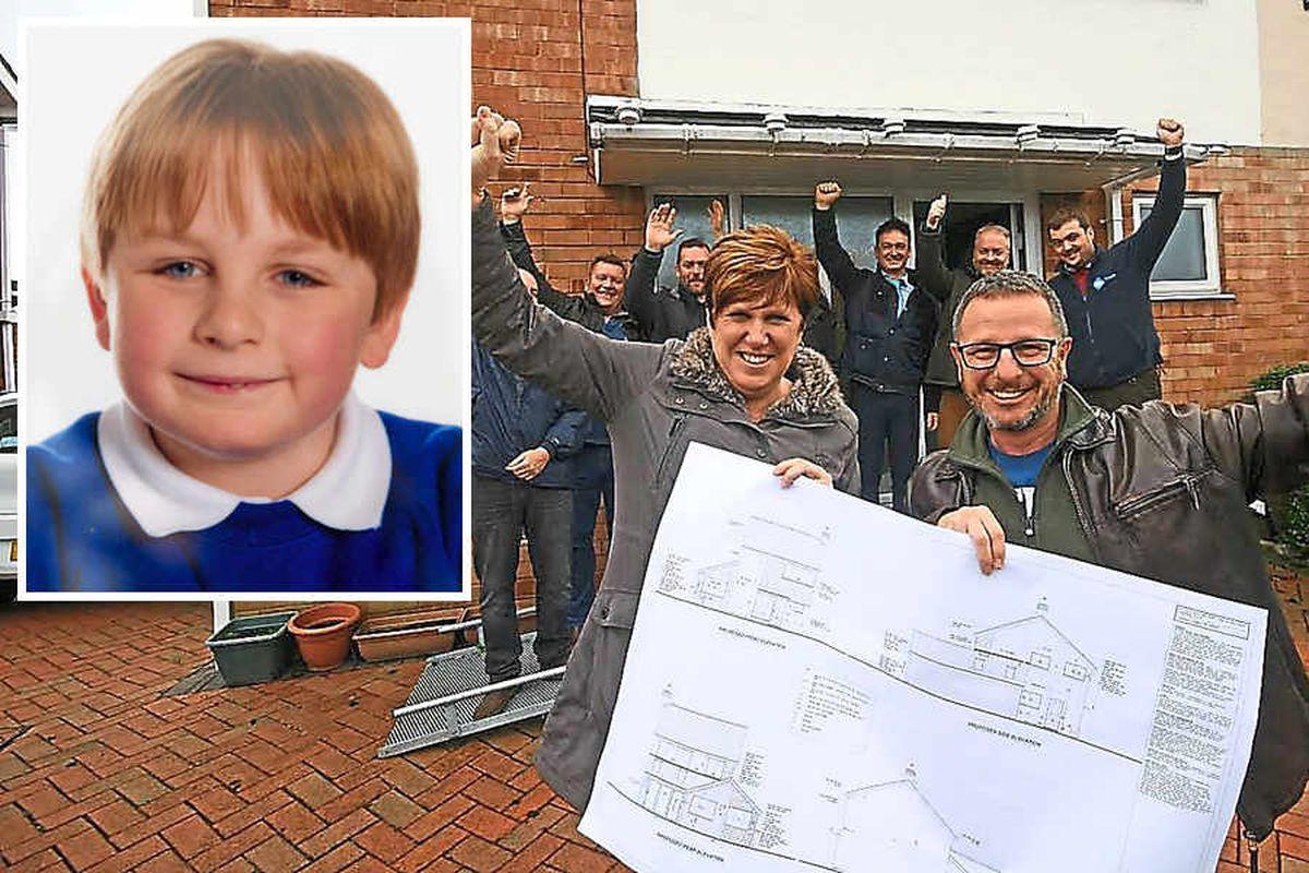 DIY SOS team in Telford to plan Big Build for Matthew Cooper