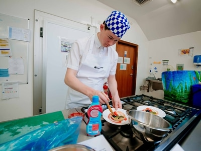 Masterchef skills for Shropshire college students