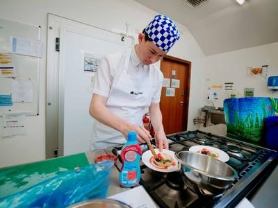 Masterchef skills for Shropshire college students