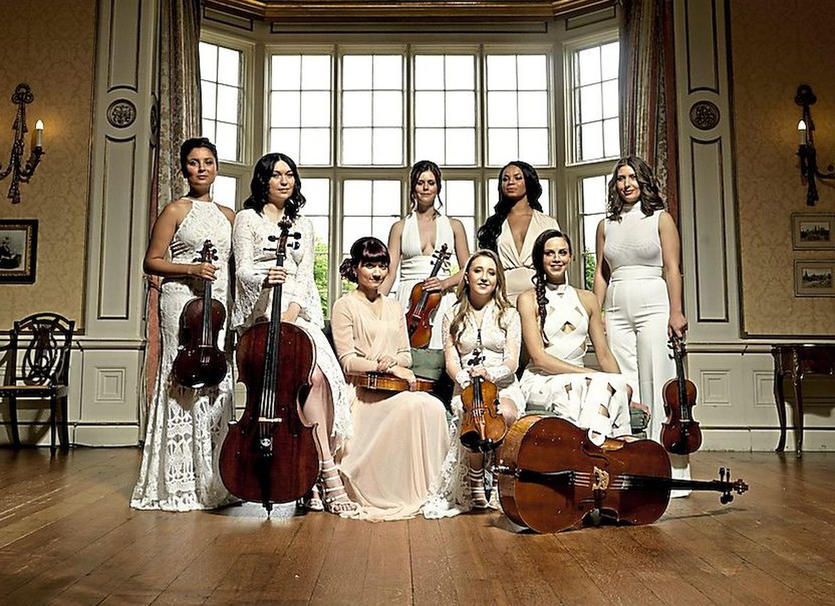 String Infusion has been announced as one of the headline acts at this year's Proms and Prosecco in the Park