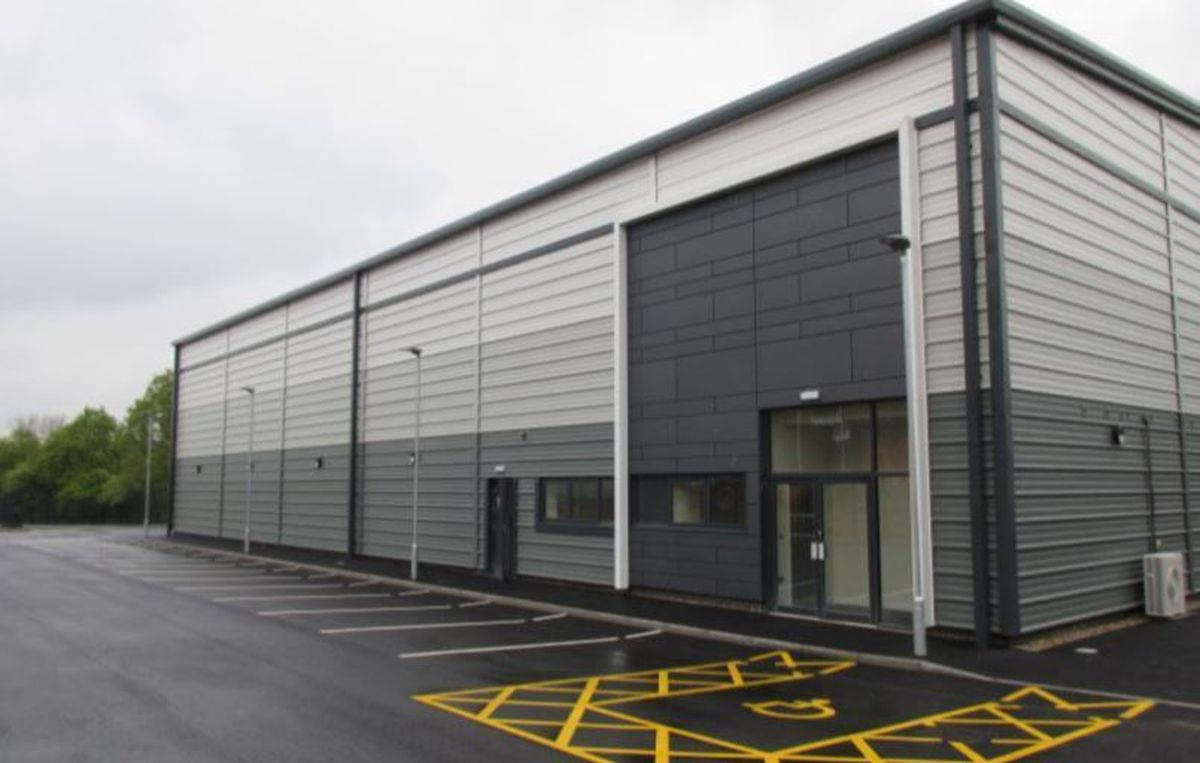 The Marches Centre of Manufacturing and Technology plans to reclassify this building to include educational use. Picture: Bulleys Bradbury Chartered Surveyors