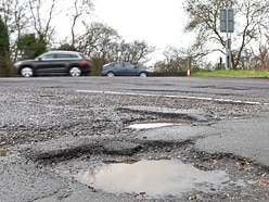 £9 million repair bill to tackle Shropshire's potholed roads