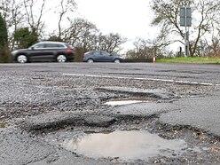 £9 million repair bill to tackle Shropshire's potholed roads