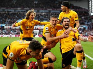 Dramatic celebrations as Ruben Neves wins it (Getty)