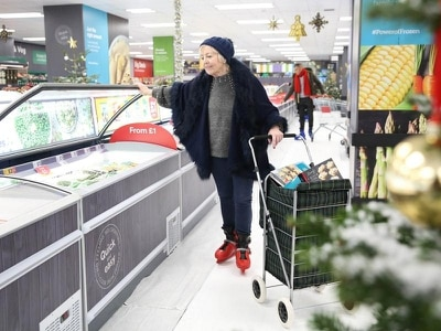 Iceland sets up instore ice rink to add festive fun for food shoppers