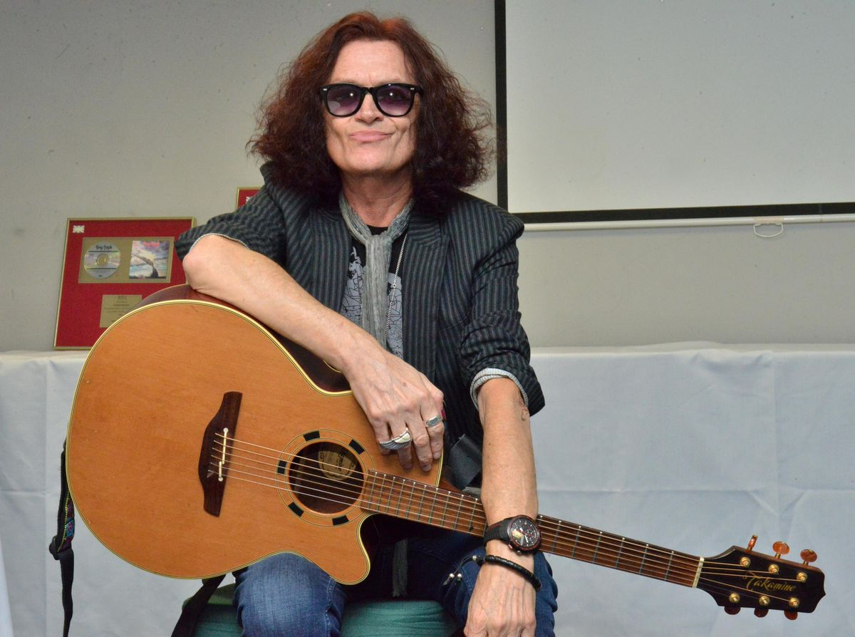 Rock Legend Glenn Hughes pictured before his gig at the Premier Suite Lounge, Bar Sport, Cannock in 2017