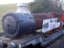 Locomotive boiler to be given overhaul thanks to Severn Valley Railway Charitable Trust