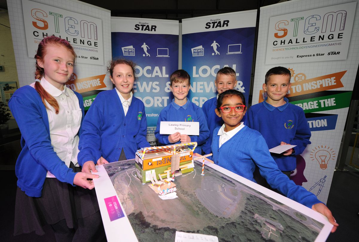 Best Problem Solving winners – The team from Lawley Primary School