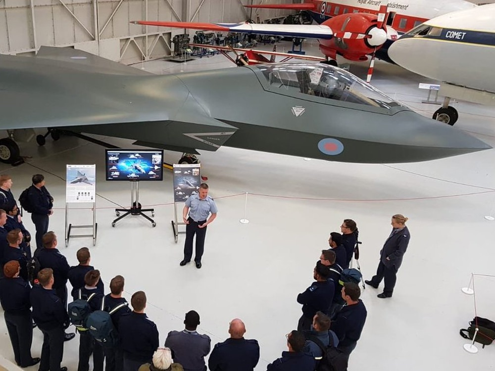 Is it a plane, is a drone? Plane of the future on show at RAF Museum Cosford