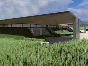 The proposed crematorium