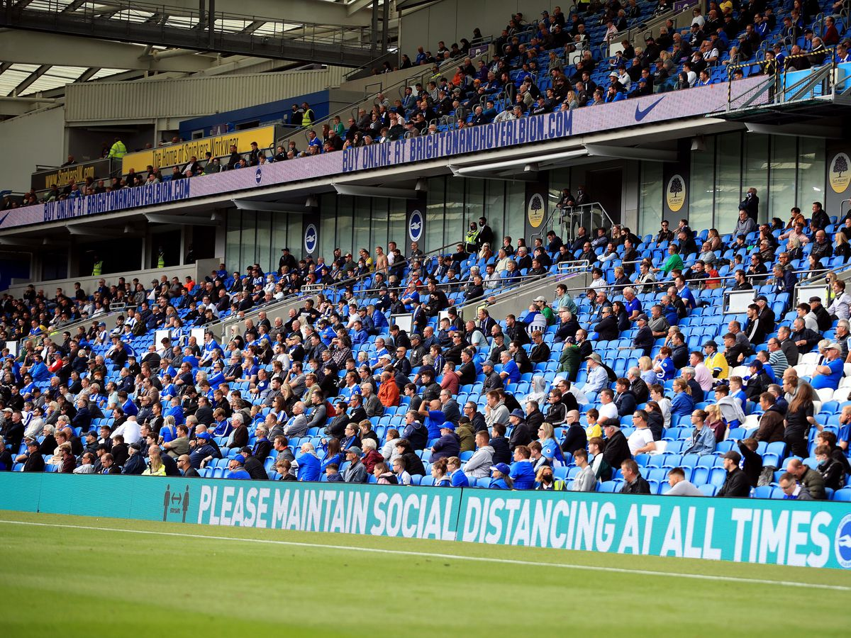 Fans Return to Sporting Events File Photo