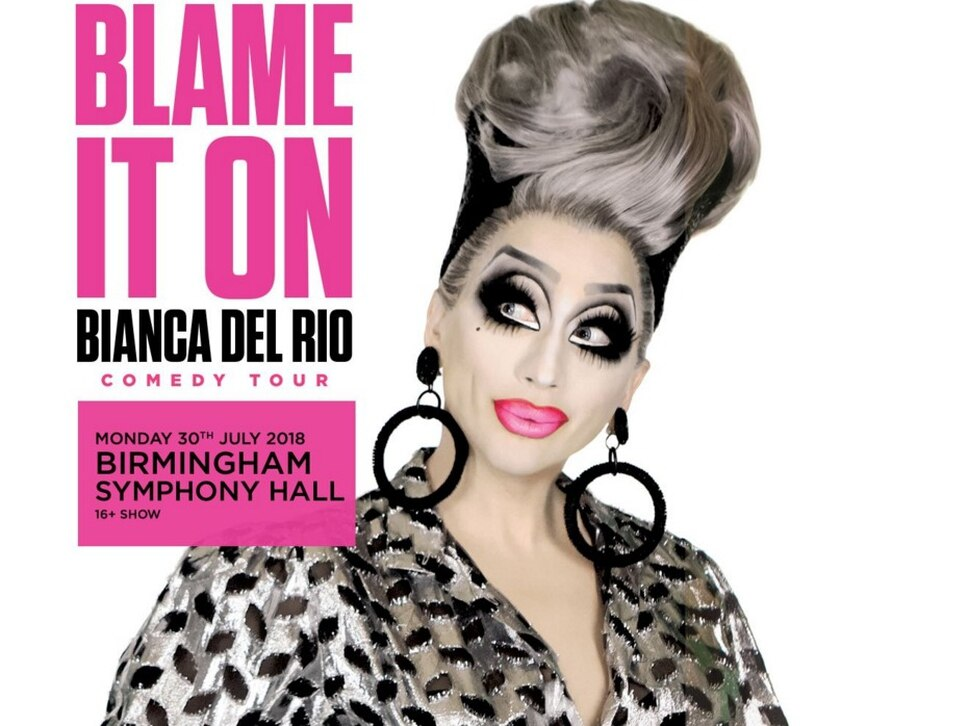 Bianca Del Rio talks Joan Rivers, RuPaul's Drag Race and her new show ahead of Birmingham performance