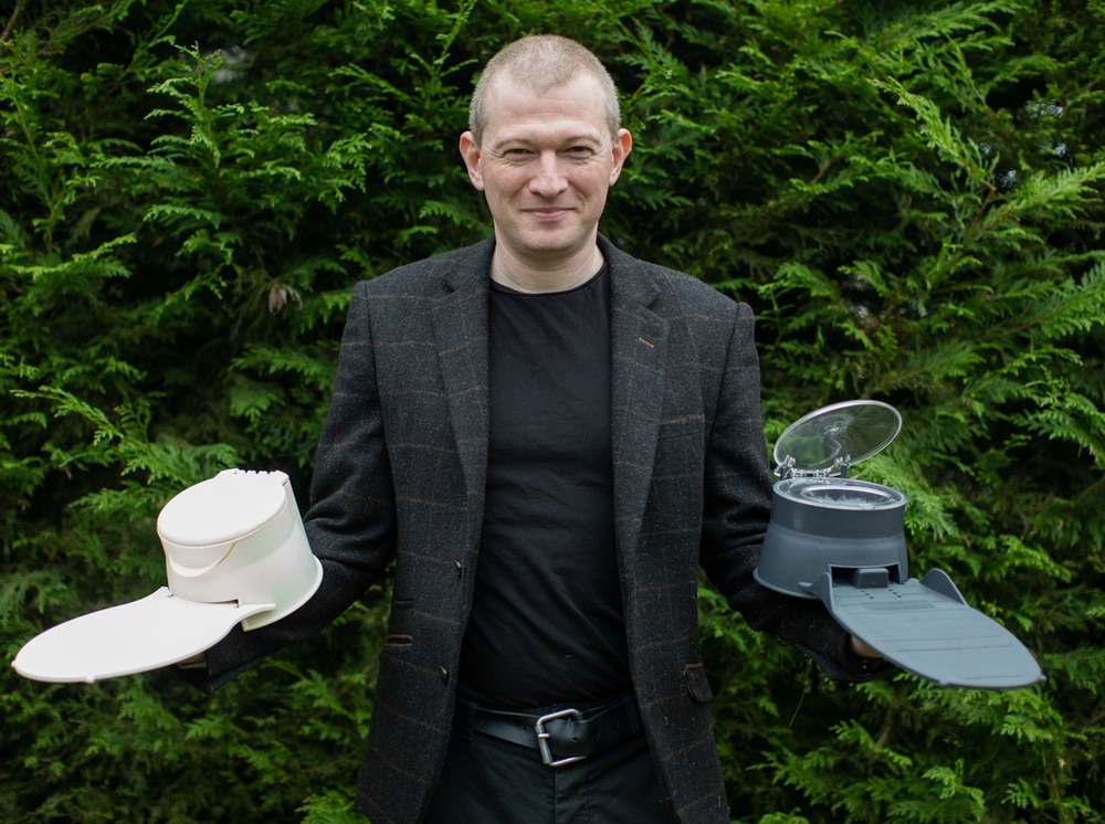 Inventor Peter Throws Himself Into The Dragon S Den