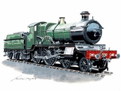 Locomotive to be talk of the town