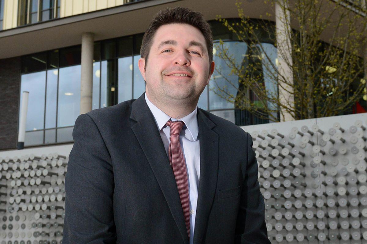 Telford & Wrekin Council leader Shaun Davies,