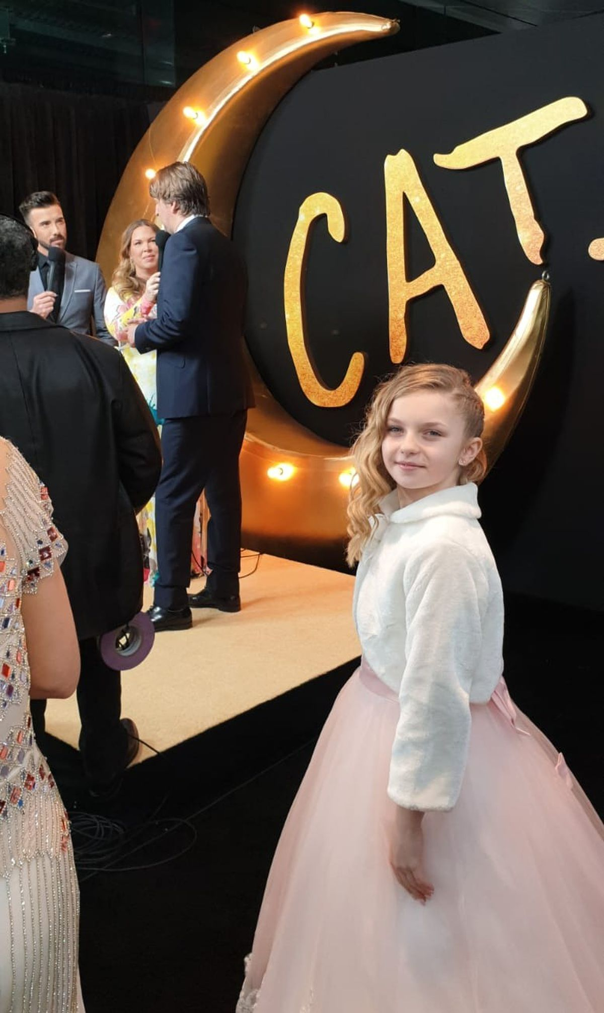 Meesha at the Cats premiere in New York