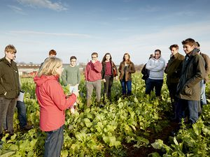 The school's courses will include undergraduate courses to train new sustainable farmers and short courses and apprenticeships to upskill the current farming workforce