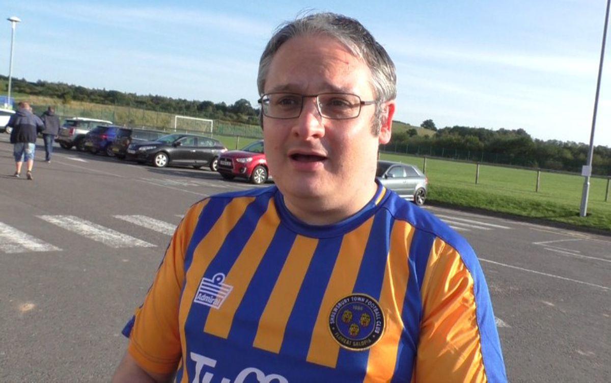 Shrewsbury Town fans spoke with Luke Hatfield.