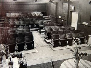 The Belfrey Theatre, Wellington, as it looked when it first opened 50 years ago.