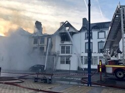 Aberystwyth fire: Family of missing man traced two weeks after blaze