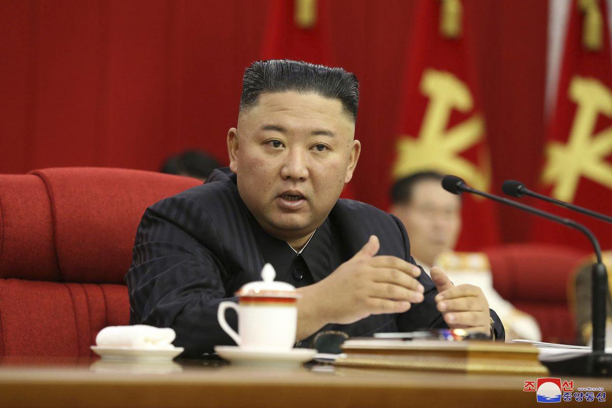 Kim Jong-un - leading the fightback against falling standards in spoken syntax