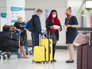 Passengers at airport