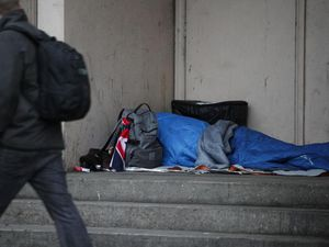 Shropshire rough sleeping numbers at highest in ten years