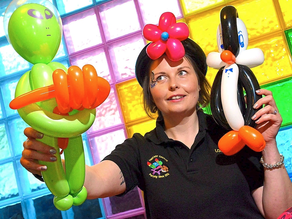 From 999 calls to crafting balloons as Louie changes career