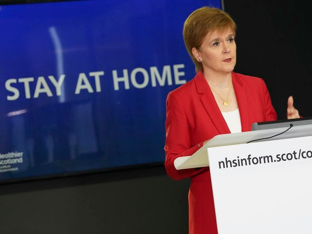 'Stay at Home' advice continues in Scotland, Wales and Northern Ireland