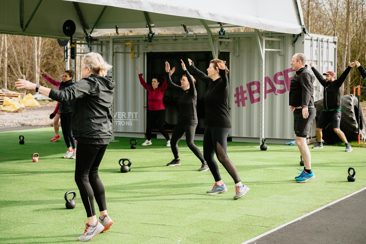 Outdoor exercise has returned to The Shrewsbury Club