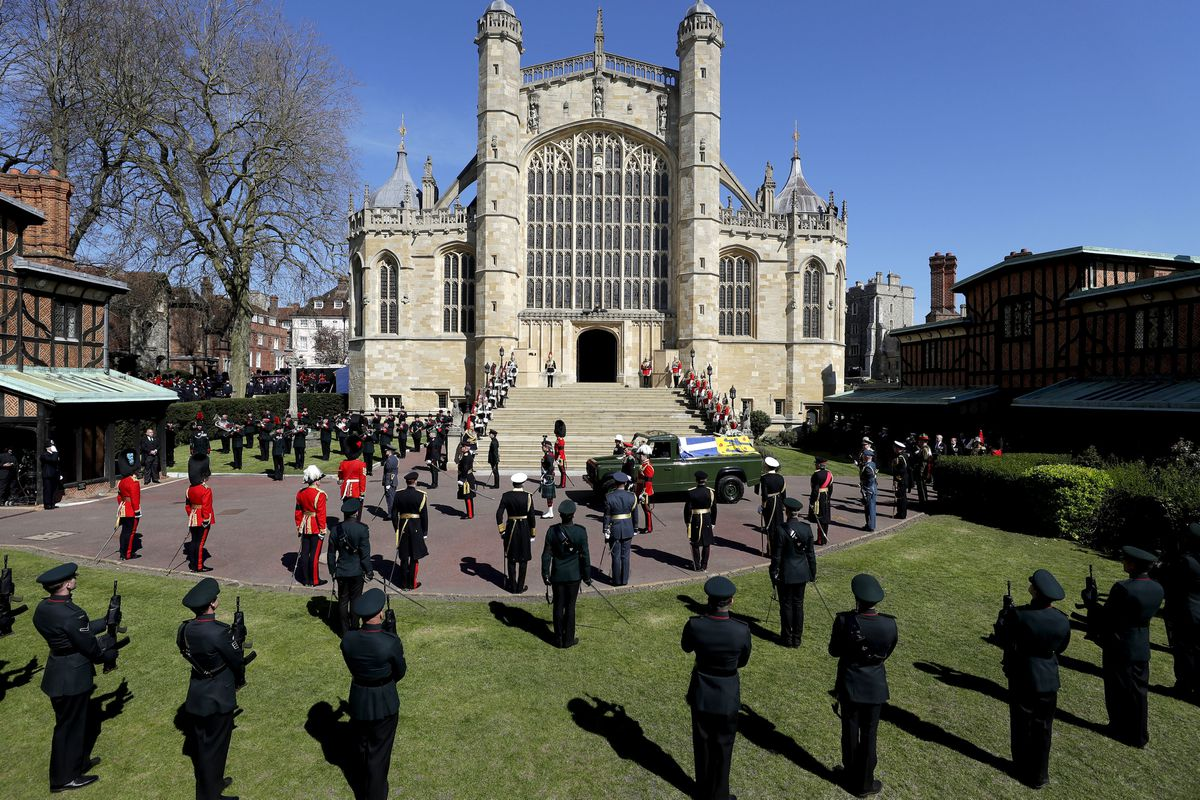 All branches of the military were represented in Windsor