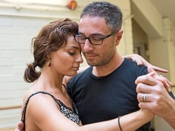 Vincent and Flavia doing the tango at Birmingham theatre