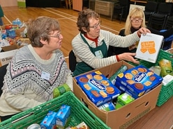 Market Drayton Foodbank grateful for a ton of support