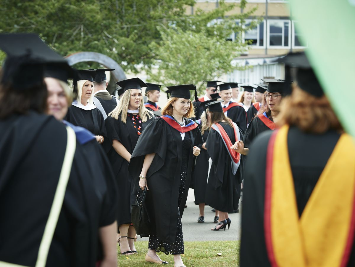 Graduates from Shrewsbury Colleges Group