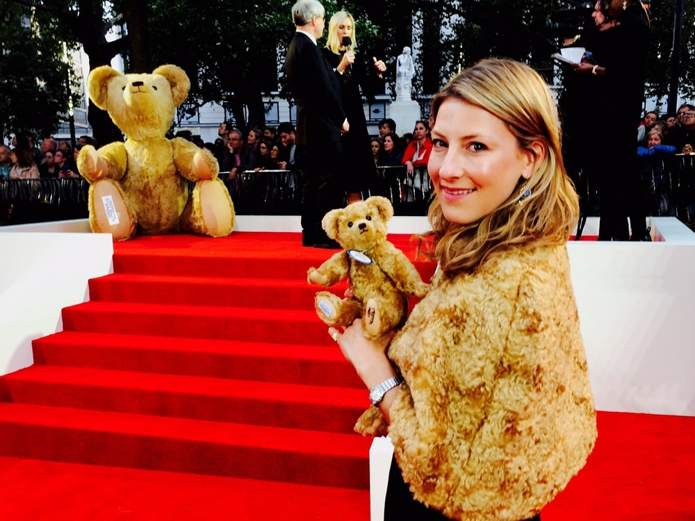 Goodbye Christopher Robin: Shropshire Bear maker steals show at film premier